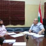 [تحديث] لقاء الموقع مع رئيس البلدية الحاج طلال دنكر